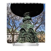 Stockholm Statue Shower Curtain