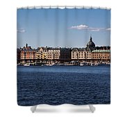 Stockholm Waterscape Shower Curtain