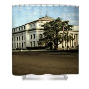Stockton Civic Auditorium 2 Shower Curtain