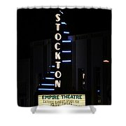 Stockton Theatre Shower Curtain
