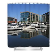 Stockton Waterscape Shower Curtain by Carol Groenen