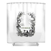 Stoker Shower Curtain