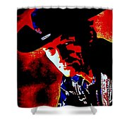 Stompin' Tom Shower Curtain