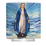 Stomping Shower Curtain