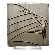 Stone - Tile Shower Curtain