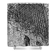 Stone And Lace Shower Curtain