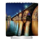 Stone Arch Bridge Shower Curtain