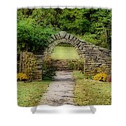 Stone Arches Shower Curtain