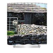 Stone Barn Doolin Ireland Shower Curtain