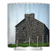 Stone Building Maam Ireland Shower Curtain