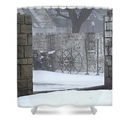 Stone Cellar Shower Curtain