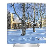Stone Church At Cragsmoor Shower Curtain