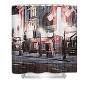 Stone City  Shower Curtain