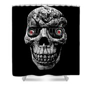 Stone Cold Jeeper Cyborg No. 1 Shower Curtain