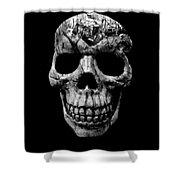 Stone Cold Jeeper Skull No. 1 Shower Curtain