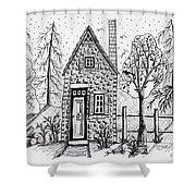 Stone Cottage Shower Curtain