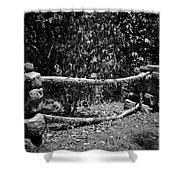 Stone Fence B Shower Curtain