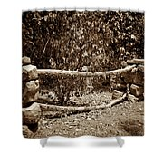 Stone Fence S Shower Curtain