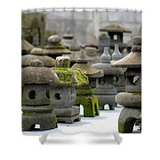 Stone Figures Shower Curtain