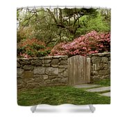 Stone Gate Shower Curtain