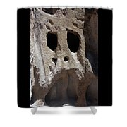 Stone Ghoul Shower Curtain