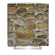 Stone Hot  Shower Curtain