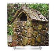 Stone Hut Shower Curtain