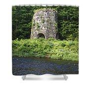 Stone Iron Furnace - Franconia New Hampshire Usa Shower Curtain