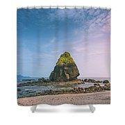 Stone Island Shower Curtain