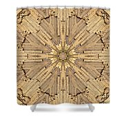 Stone Mosaic Mandala 2 Shower Curtain