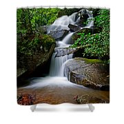 Stone Mountain Falls Shower Curtain