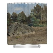 Stone Of The Field Shower Curtain