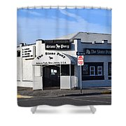 Stone Pony, Asbury Park Shower Curtain