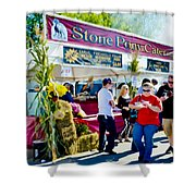 Stone Pony Catering Shower Curtain