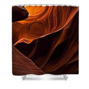 Stone Shadows Shower Curtain