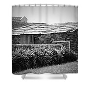 Stone Structure Doolin Ireland Shower Curtain