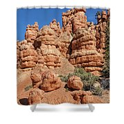 Stone Toadstools Shower Curtain