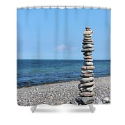 Stone Towers Shower Curtain
