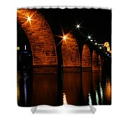 Stonearch Bridge - Minneapolis Shower Curtain