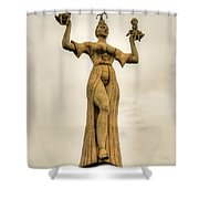 Stoned Beauty Shower Curtain