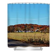 Stonefort Shower Curtain