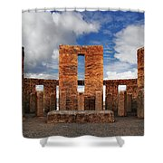Stonehenge Altar Shower Curtain