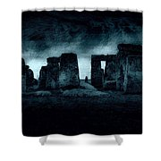 Stonehenge Mood Shower Curtain