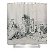 Stonehenge Wiltshire Shower Curtain