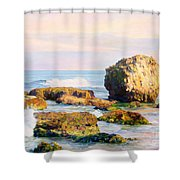 Stones In The Sea Shower Curtain