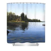 Stoney Lake Shower Curtain