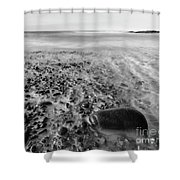 Stony Beach Shower Curtain