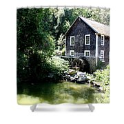 Stony Brook Gristmill And Museum Shower Curtain