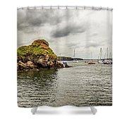Stony Cove, Ireland Shower Curtain