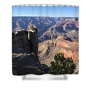 Stop Along The Way Shower Curtain